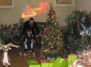 Arbre de Noël 2014 à Beaulieu
