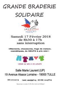Grande braderie solidaire